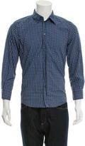 Dolce & Gabbana Gingham Print Button-Up Shirt