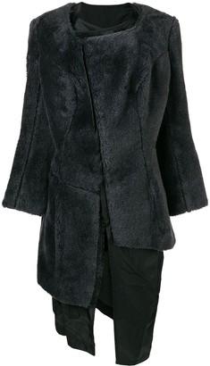Comme Des Garçons Pre Owned 1997 Faux Fur Coat