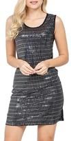 Dorothy Perkins Womens Izabel London Silver Embellished Shift Dress