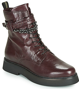 Mjus TRIPLE STRAP women's Mid Boots in Bordeaux