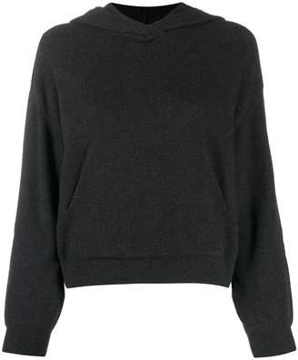 Nanushka Mog knit hoodie
