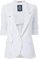 GUILD PRIME striped blazer - women - Polyester/Cupro/Rayon - 36