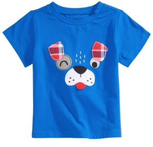 First Impressions Baby Boys Puppy Dog T-Shirt, Created for Macy's