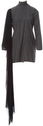 Maison Margiela Grey Wool Dresses
