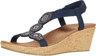 Skechers Women's Beverlee-Date Glam Sandal Wedge