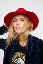 Free People Womens CLEAN SLATE FELT HAT