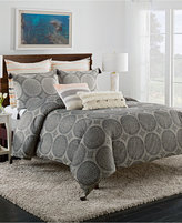 Cupcakes And Cashmere Dot Medallion King Duvet Cover