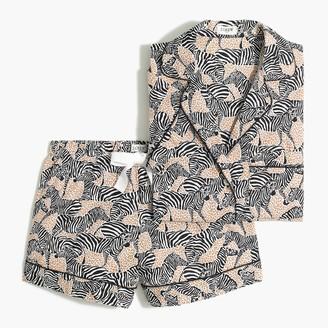 J.Crew Printed short-sleeve pajama set