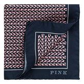 Thomas Pink Jumping Fox Print Pocket Square