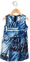 Milly Minis Girls' Ari Scribble Dress w/ Tags