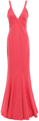 ZAC Zac Posen Stretch-crepe Gown