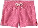 Jumping Beans Baby Girl Jumping Beans® Dot Slubbed Cuffed Shorts