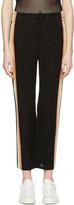 Etoile Isabel Marant Black Side Stripe Dobbs Lounge Pants