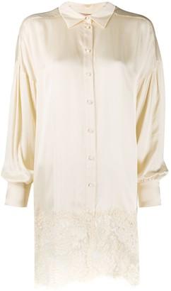 Twin-Set Long Lace Shirt