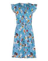 Yumi Curves Ladder Front Floral Day Dres