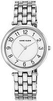 Anne Klein Women's Silvertone Bracelet Watch