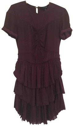 Isabel Marant Burgundy Dress for Women