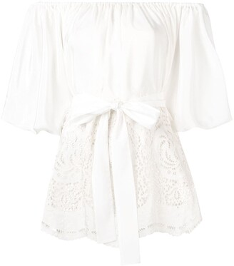 Stella McCartney Broderie Anglaise Blouse