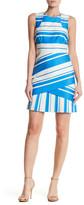 Karen Millen Graphic Stripe Panel Dress