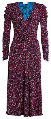 Diane von Furstenberg Rhea Ruched Wrap Dress