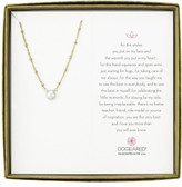 Dogeared Pearls Of Love Beaded Chain With Pearl Boxed