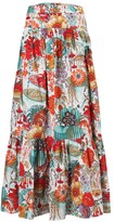Floral Garden Maxi Skirt