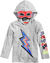 Epic Threads Graphic-Print Hoodie and Mask, Toddler Boys (2T-5T), Created for Macy's