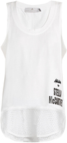 adidas by Stella McCartney Essentials logo-print tank top