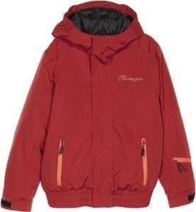 Chiemsee Children's einfarbig Jacket, (red Dahlia), 158/164