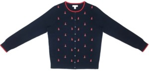 Charter Club Boat Button Cardigan, Created for Macy's