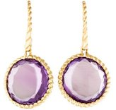 Roberto Coin 18K Amethyst Ipanema Earrings