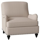 Parkdale Armchair Duralee Furniture Upholstery Material: Bailey Ld Driftwood