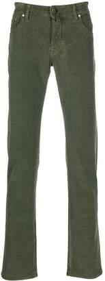 Jacob Cohen five pocket design regular trousers