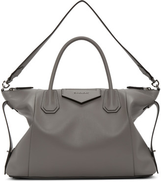 Givenchy Grey Soft Medium Antigona Bag
