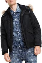 Tommy Hilfiger Tommy Jeans Tech Bomber Jacket, Multi/charcoal