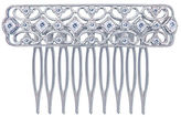 FINE JEWELRY Diamonart Sterling Silver Cubic Zirconia Princess Hair Comb