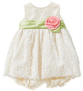 Jayne Copeland Jane Copeland Baby Girls 3-24 Months Lace-Overlay-Skirted Dress