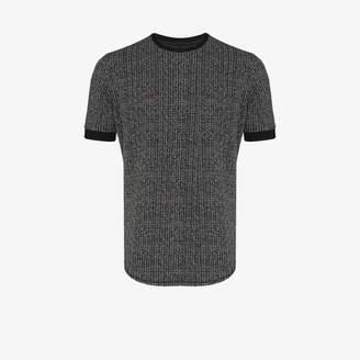 Prévu PREVU Balfour check slim fit T-shirt