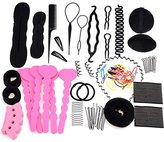 eshion® Hair Design Styling Accessory Maker Pads Hairpins Clip Donut Tool Kit