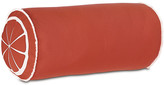 One Kings Lane Citrus 9x18 Outdoor Bolster Pillow - Orange