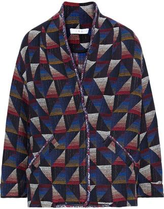 IRO Malhi Frayed Boucle-jacquard Jacket