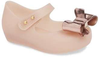 Mini Melissa Ultragirl Bow Wedge Mary Jane (Toddler)