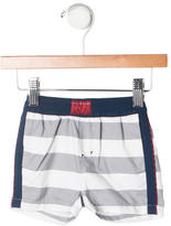 Little Marc Jacobs Boys' Striped Swimming Trunks w/ Tags