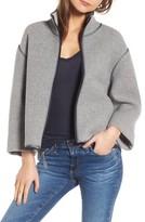 James Perse Women's Easy Scuba Jacket