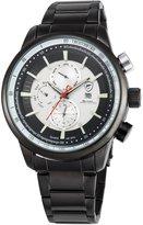 "Shark Men's SH371 ""Gummy Quartz Day / Date / Month Stainless steel Wrist Watch"