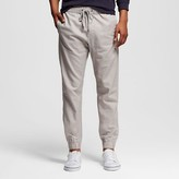 Mossimo Men's Light Grey Linen Joggers