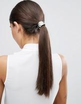 Asos Plaited Metal Hair Tie
