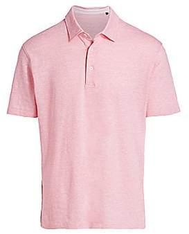 Saks Fifth Avenue Short Sleeve Polo