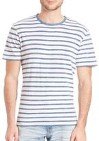 AG Jeans Cliff Crew Striped Tee