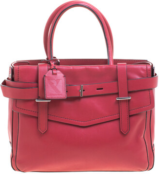 Reed Krakoff Rosewood Pink Leather Boxer Satchel